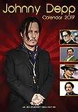 Johnny Depp Celebrity Calendrier mural 2017par Megacalendars