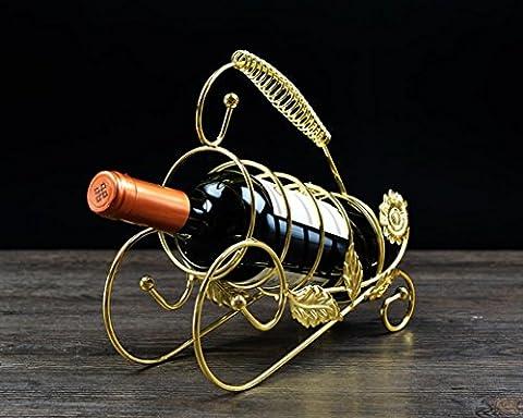 Vin créatif étagères porte-bouteilles antique en fer forgé porte-bouteilles de vin maison ornements vin porte-bouteille , 4