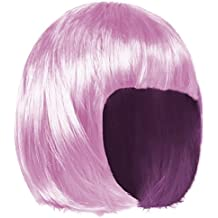 shenky - Peluca para Mujer - Ideal para Carnaval - Pelo Corto Estilo Bob