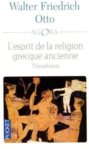 L'esprit de la religion grecque ancienne