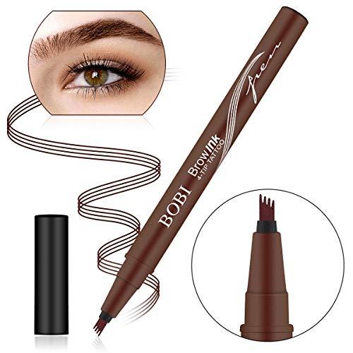 Augenbrauenstift Wasserfest Augenbrauenstift Tattoo Augenbrauenstift Definieren Sie einen hochnatürlichen Make-up-Bobble Flow(Braun) -