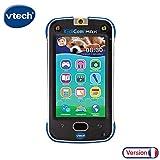 VTech - KidiCom Max Bleu - Téléphone pour enfant évolutif, ultra résistant, sécurisé, avec appareil photo intégré