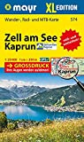 Zell am See, Kaprun XL: Wander-, Rad- und Mountainbikekarte. GPS-genau. 1:25000 (Mayr Wanderkarten)