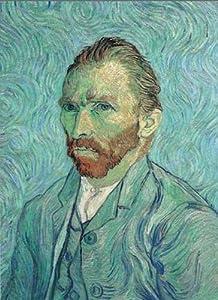 Ricordi- Self-Portrait-Vincent 1000 Van Gogh Puzle