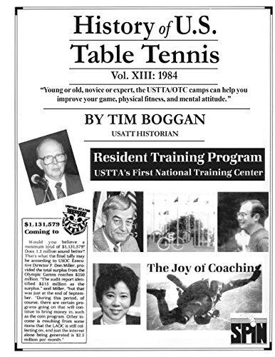 History of U.S. Table Tennis Volume 13 by Tim Boggan (2014-04-24) par Tim Boggan