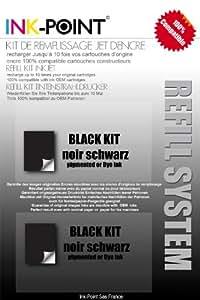 kit recharge remplissage encre noire pour HP 178 / 364 / 564 / 920 et modèles XL encre OCP made in germany