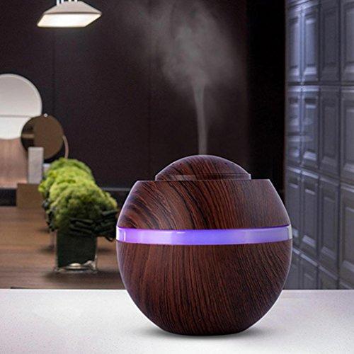 Winkey 500ml USB Air Aroma Humidifier Ultrasonic LED 7 Color
