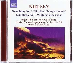 "Carl Nielsen: Symphonies Nos. 2 ""The Four Temperaments"" & 3 ""Sinfonia espansiva"""
