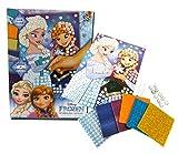 Brigamo 5302 - ❄ Disney Frozen Mosaik Bastelset mit vielen Glitzersteinen ❄