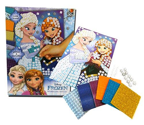 Brigamo 5302 - Disney Frozen Mosaik Kinder Bastelset mit vielen Glitzersteinen thumbnail