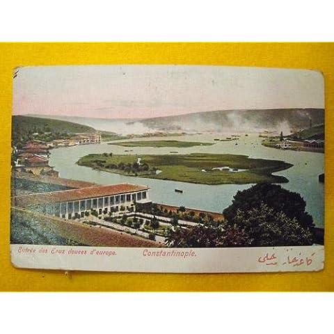 Antigua Postal - Old Postcard : Entrada de Aguas dulces de Europa - CONSTANTINOPLA - Turquia