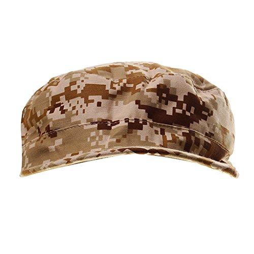 Générique Casquettes Camouflage Réglable pour Camping Randonnée Chasse Escalade en Plein Air Hat Camouflage Loisirs Cap
