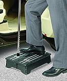 UPP Trittstufe tragbar & faltbar - Stufe mit 10cm als Einstiegshilfe für Bad, Auto, Unterwegs - Mobil & Leicht - ANTI-Rutsch Sicherheit!