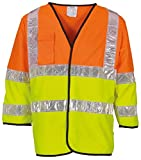 Yoko Hi Vis Premier Two Tone Recovery Jerkin - Sizes Med - 3XL
