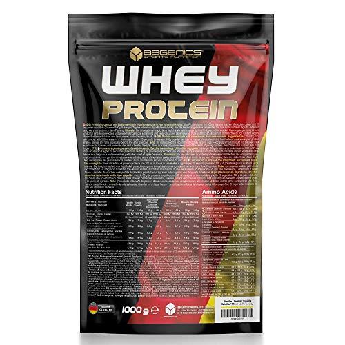 Bbgenics germania-proteina di siero di latte , proteina di siero, polvere di albume, borsa, 1000 g cioccolato