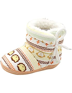 Zhuhaitf Excelente Toddler Soft Boots Baby Soft Sole Snow Boots Warm Crib Shoes hz001