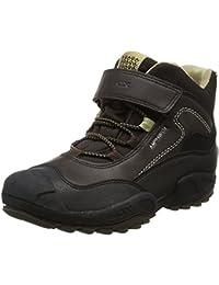 Geox Jungen J New Savage Boy B Abx A Hohe Sneaker