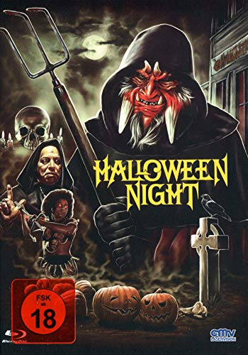 Halloween Night - Uncut - limitiertes Mediabook auf 333 Stück (+ DVD) - Cover B [Blu-ray] (Film Nights Halloween Horror)