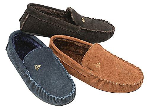 Foster Footwear , Moccasin femme garçon homme mixte adulte Bleu Marine