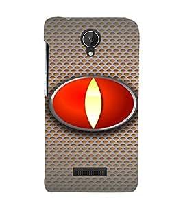 PrintVisa Modern Art Eye 3D Hard Polycarbonate Designer Back Case Cover for Micromax Canvas Spark Q380