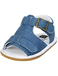 Fabal Baby Boys Sandals Shoe Casual Shoes Sneaker Anti-Slip Soft Sole Toddler (12~18 Month, Blue)