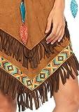 Leg Avenue 85398 – Native Princess Damen kostüm, Größe S/M (EUR 36-38), Karneval Fasching - 3