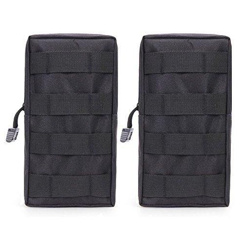 Airsson Tactical Molle Tasche Beutel EDC Bag Kompaktes Wasser-Resistant Utility Gadget Hanging Waist Satteltasche