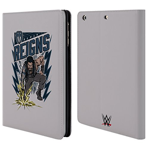 official-wwe-reigns-roman-reigns-leather-book-wallet-case-cover-for-apple-ipad-mini-1-2-3
