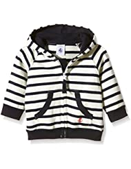 Petit Bateau Bohème - Sweat-shirt à capuche - À rayures - Manches longues - Bébé garçon