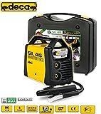 Saldatrice INVERTER ad elettrodo e TIG 150 Amp con valigetta e accessori Deca - SIL 415