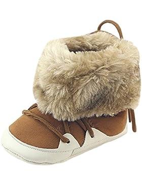 ❆HUHU833 Kinder Mode Baby Stiefel Soft Sole, Keep Warm Schnee Stiefel, Kleinkind Stiefel Warm Schuhe