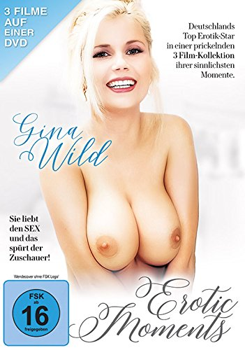 Erotic Moments - Gina Wild - 3 Filme auf 1 DVD