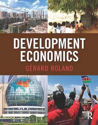 Development Economics (The Pearson Series in Economics) by Gerard Roland (2013-07-24)