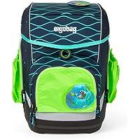 ergobag Unisex-Kinder Pack Cubo Light Side Pocket Zip Set (3-pcs.) Sicherheitssystem