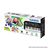 #3: Casio SA47 Mini Portable Keyboard With Free Ninja Hattori Stationery Box