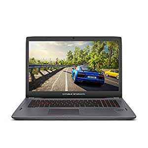 "ASUS ROG Strix GL702VS 17.3"" Full HD Ultra Thin Gaming Laptop,75HZ G-SYNC Display, GeForce GTX 1070 8GB, Intel i7-7700HQ 2.8 GHz, 12GB DDR4 RAM"