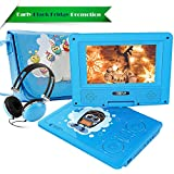 """Best Portable Dvd Players - FUNAVO 7.5"""" Portable DVD Player with Headphone, Carring Review"""