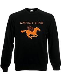 Camp Media sangre Long Island Olympian Jumper sudadera suéter sudor Top