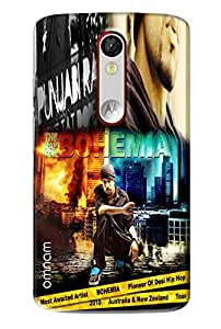 Omnam Bohemia Printed Designer Back Cover Case For Motorola Moto X Force