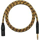 Designacable Câble de plomb mâle XLR vers Jack