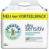 Penaten Ultra Sensitiv lingettes sans parfum, lingettes 4x56