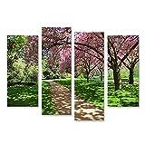 bilderfelix® Bild auf Leinwand Bäume im Hyde Park in