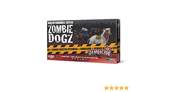 Zombie Dogz Colore z-Man Games Spagna Set da Tavolo