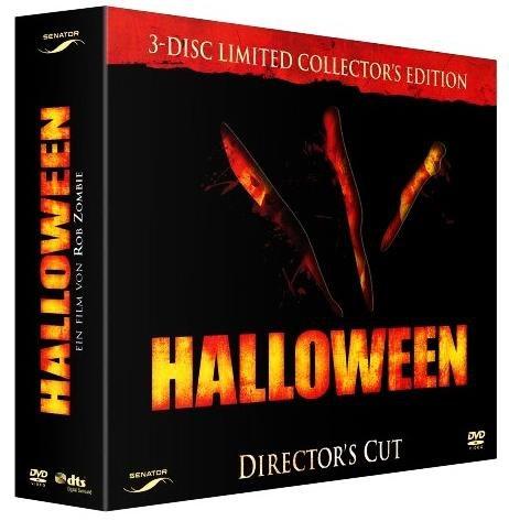 07) Limited Uncut / Unrated Box - Dir. Cut Edition - 3 x DVD (O Halloween O Filme)