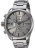Diesel Herren Chronograph Quarz Uhr mit Edelstahl Armband DZ4484