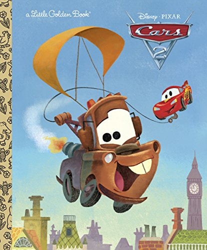 Cars 2 (Little Golden Books)