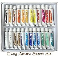 Set per pittura ad Olio * 24 tubi di colori d'olio atossico da 12ml * (Emulsione Di Vernice)