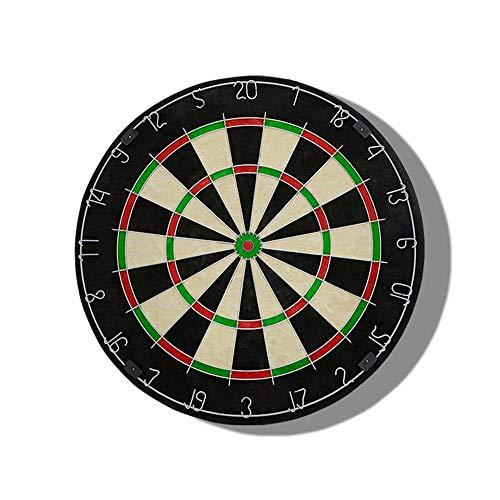 XZW AN Gehirn Spiel Enthält 6 Dart- und Cricket-Anzeigetafelsets aus Messing - 45 cm (18 Zoll) Durchmesser Dartscheibe, beidseitig beflocktes Dart-Set Kind Wachstum Spielzeug