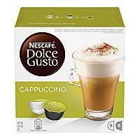 Un cappuccino cremoso e dalla schiuma perfetta, che nasce dall'incontro armonioso tra il caffè 100% Arabica ed il latte intero in polvere. Senza glutine. 16 Capsule