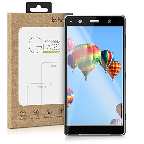 kalibri-Echtglas-Displayschutz-fr-Sony-Xperia-XZ2-Compact-3D-Schutzglas-Full-Cover-Screen-Protector-mit-Rahmen-Glas-Folie-auch-fr-gewlbtes-Display-in-Schwarz